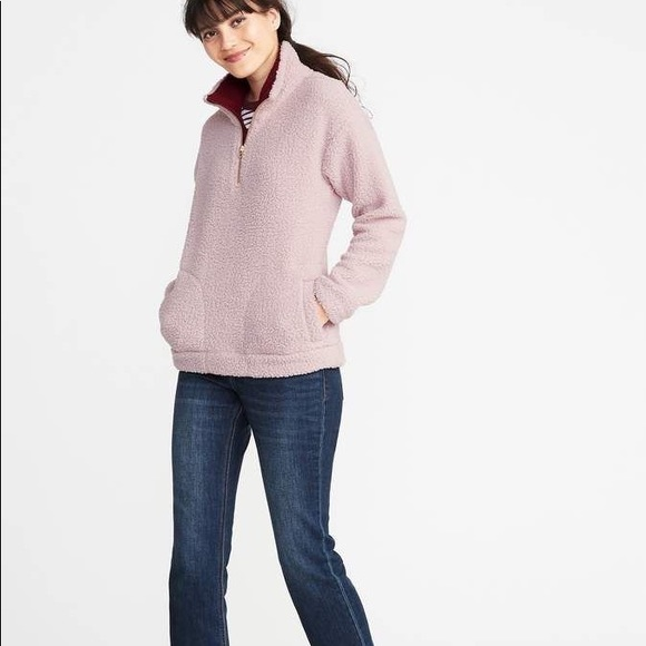 Old Navy Tops - Old navy Sherpa pullover